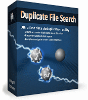 Duplicate File Search software box
